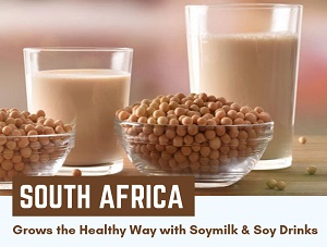 South Africa Grows the Healthy Way with Soymilk & Soy Drinks